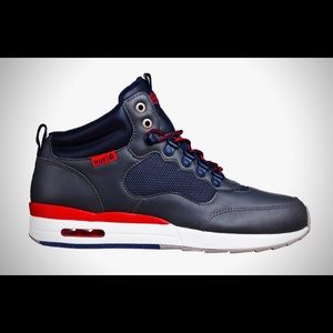 HUF HR 1 Runner Grey and Navy shoes size 7